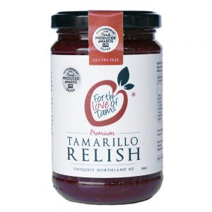 Tamarillo relish (330g)