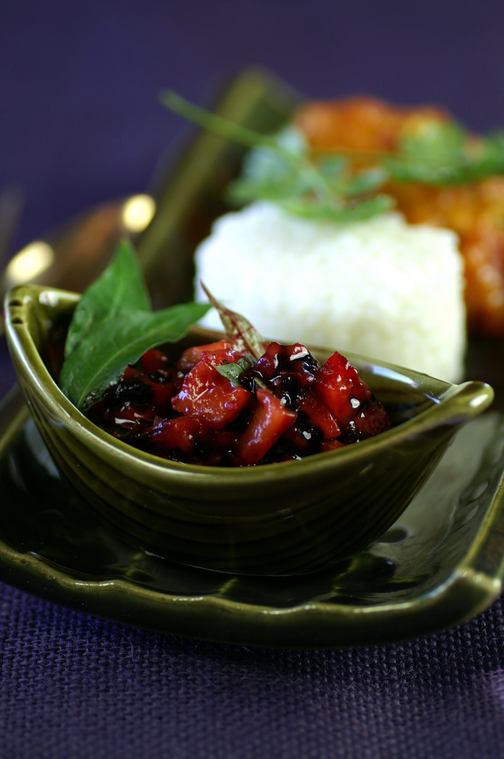 Chicken Curry with Viet Salad image