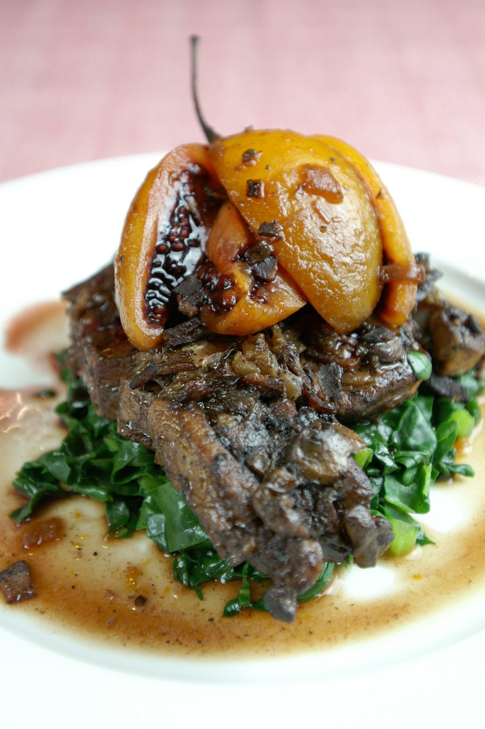Pork Chops & Tamarillos image
