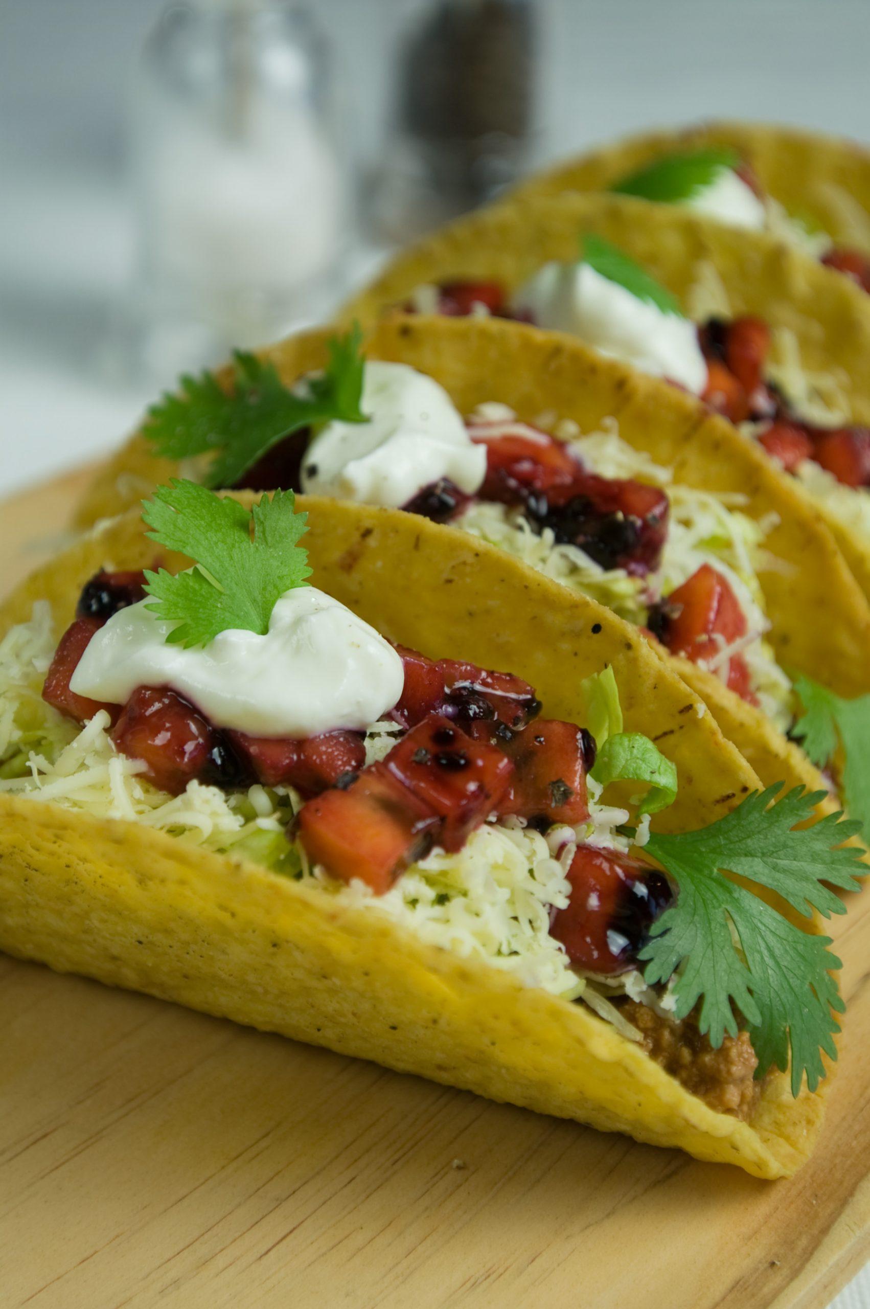 Tamarillo tacos image